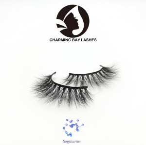 lashes 3d mink 100% fluffy 5d luxury mink fur false eyelashes
