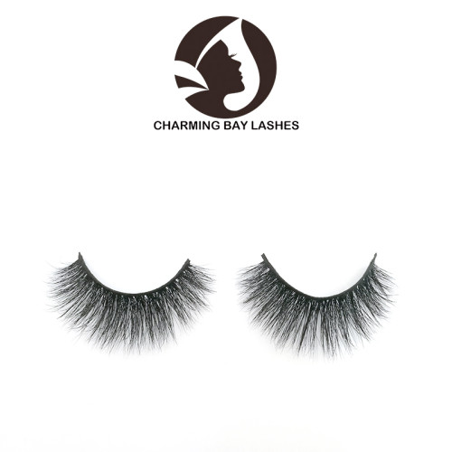 false strip eye lashes mink 5 pairs with packaging