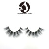 high quality private lable faux mink lashes clear band real 3d mink lashes