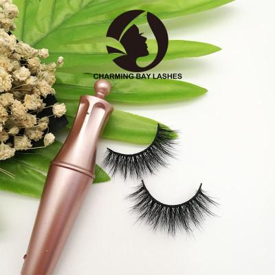best selling cheap 5 pair 3d strip authentic mink lashes