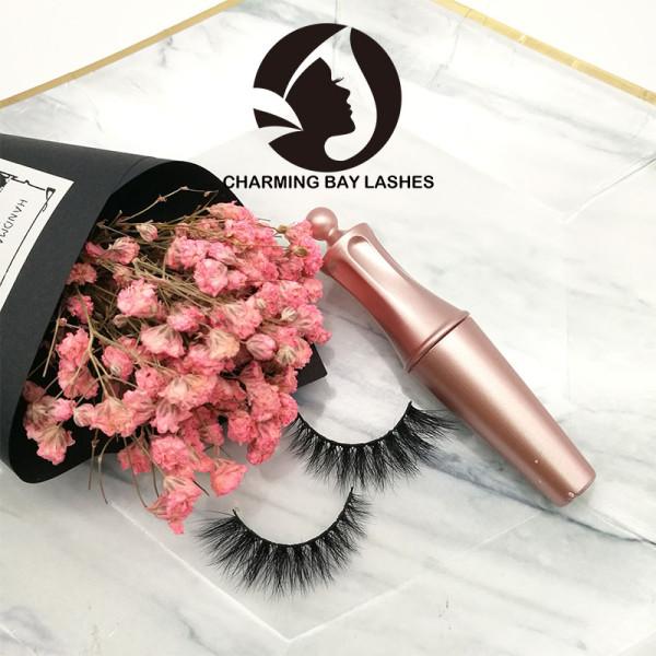 bulk mink custom box lashes classic false lashes custom package lashes