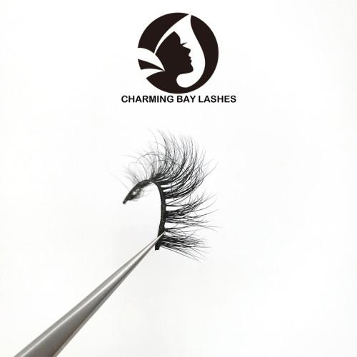 custom logo box mink eye lashes mink 3d fake eye lashes