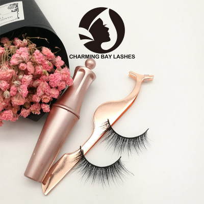 custom made eye lashes mink false fluffy lashes with packaging free sample mink lashes