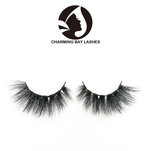 high quality hand made false mink full strip lashes 10 pairs