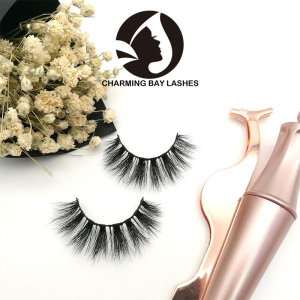 handmade high quality 3d fur mink lashes bulk free shipping