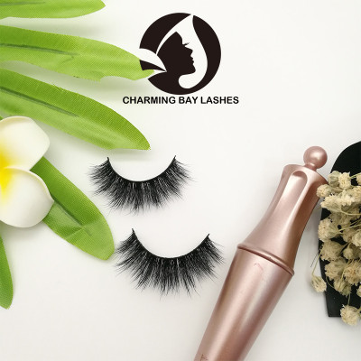 handmade mink lashes mink 3d cruelty free and packaging 5 pairs