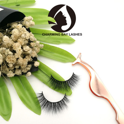 high quality mink lashes natural lovely custom logo oem