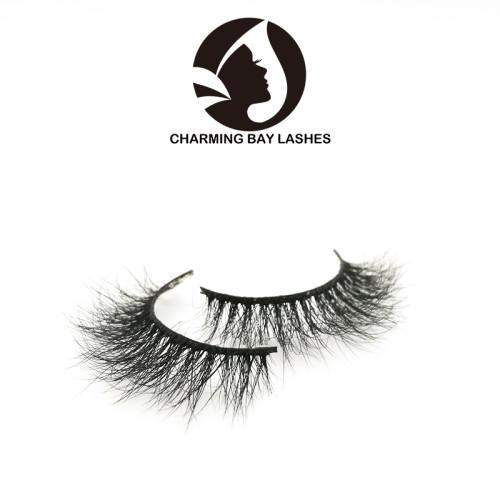 high quality mink lashes natural lovely custom logo oem