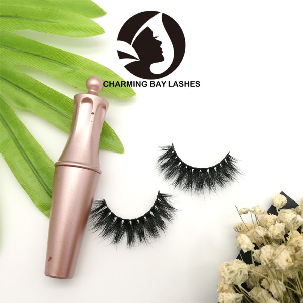 make up lashes clear band in bulk lashes with wholesale custom box