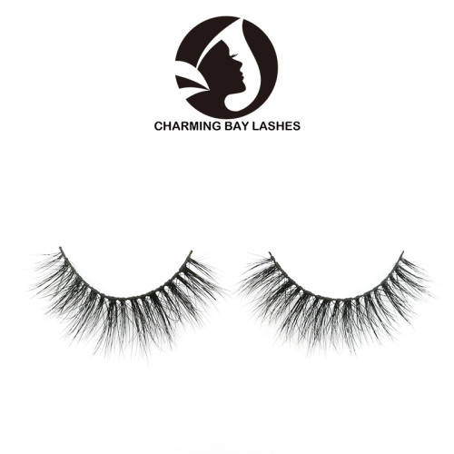 invisible band mink 3d eye lashes and custom package mink lashes manufacturer