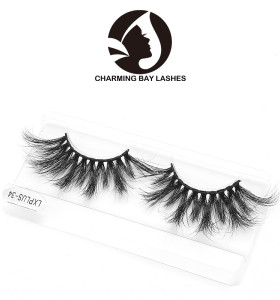 100% 3d mink fur eyelashes 3d 100% mink eyelash best price 25mm 3d mink eyelash custom package
