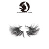 best quality 100% natural material 3d mink lashes 25mm cheap 3d mink eyelash factory