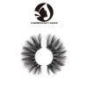 100% real 25mm fluffy 3d long thick mink eyelashes with private label best selling custom packaging 3d mink eyelashes and boxes