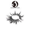 black cruelty free 100% real 3d mink lashes 25mm real 3d mink eyelashes custom with customized logo