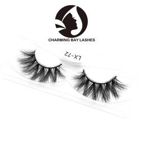 new mink lashes custom box private label 3d qingdao mink lashes