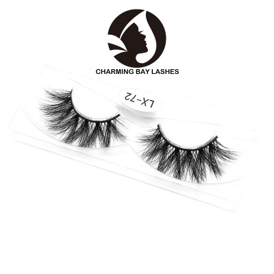 new mink lashes custom box private label 3d qingdao mink lashes