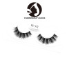 private label real mink strip eye lashes with invisible band sample siberian lashes