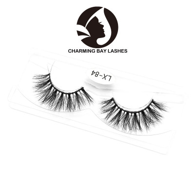 regular real soft mink lashes self-adhesive mink lashes manufacturer