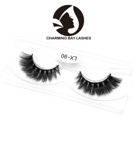 thick 3d mink unique lashes 100% hand made 3d mink eyelash wholesale mink eye lashes