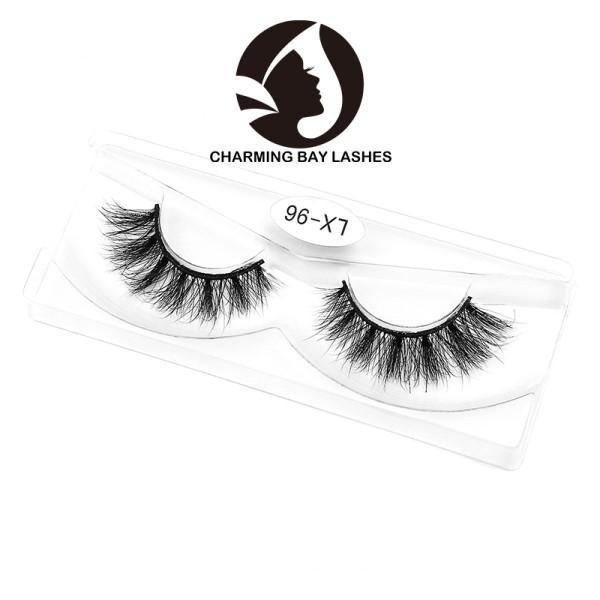 wispy mink lashes 100% hand made natural 30mm 3d mink eyelashes 3d best popular 3d mink eyelashes custom own brand