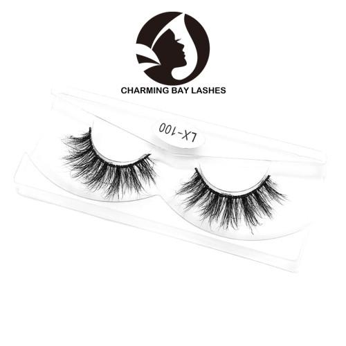 beauty secret wholesale 100% real mink 3d mink eyelashes fluffy eye lashes comfortable 3d mink eyelash with costom boxes