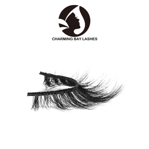 100% handmade cheap and fine real mink fur 3d mink eyelashes for eyes makeup factory in china
