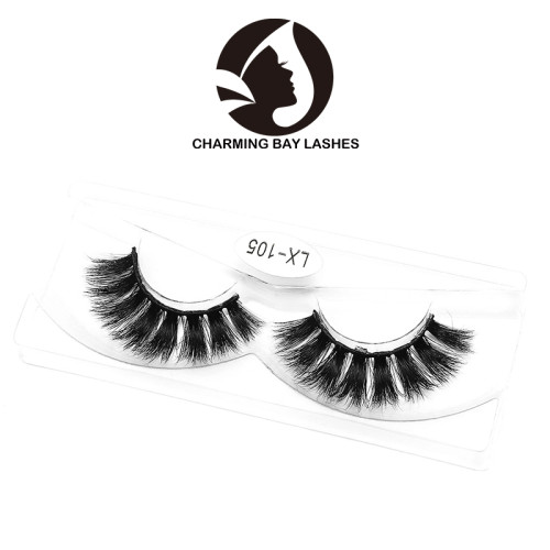 3d mink eyelashes and packaging  oem factory wholesale hand-made bulk buy from china 3d mink eyelashes