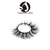 brand 3d wholesale mink fur strip false eyelash with luxury packaging 3d mink lashes private label