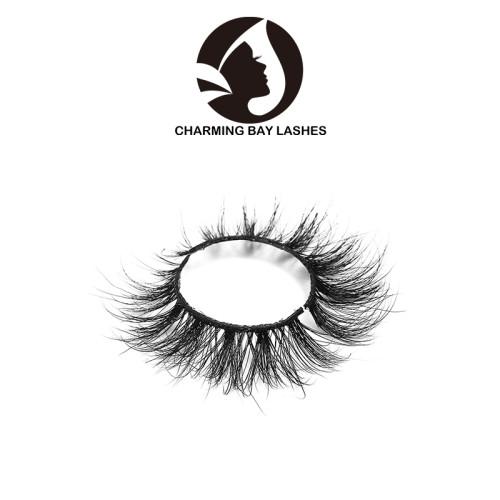 brand 3d wholesale mink fur strip false eyelash with luxury packaging 3d mink lashes private label