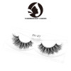 factory supply 3d real mink fur natural strip false eyelash with private label