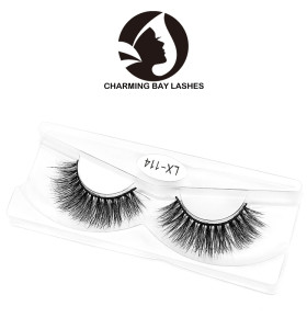 chinese supplier custom false 3d mink eyelashes 100% real