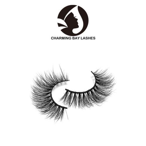 chinese supplier custom false 3d mink eyelashes 100% real