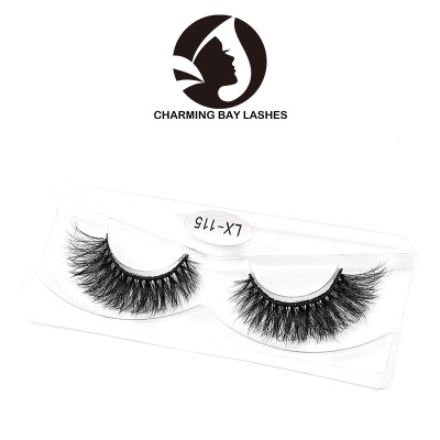 free eyelashes sample 3d mink fur false eyelashes wholesales and custom packaging box with good price