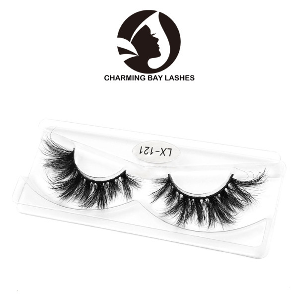 cruelty free dramatic 3d mink eyelashes clear band supplier round box create your own brand 3d mink eye lashes