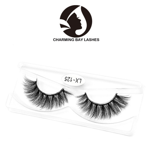 free samples custom 3d mink eyelashes faux factory price hand made 3d mink eye lashes
