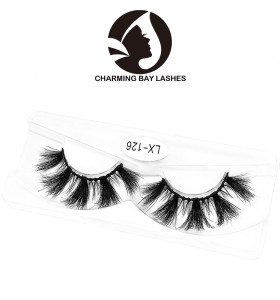 beauty private label charming box packing factory wholesale real 3d mink fur eyelashes high quality lashes for england
