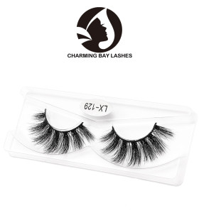 china best 3d fur mink lashes fashion 3d mink strip eyelashes fur false eyelashes with custom eyelash box