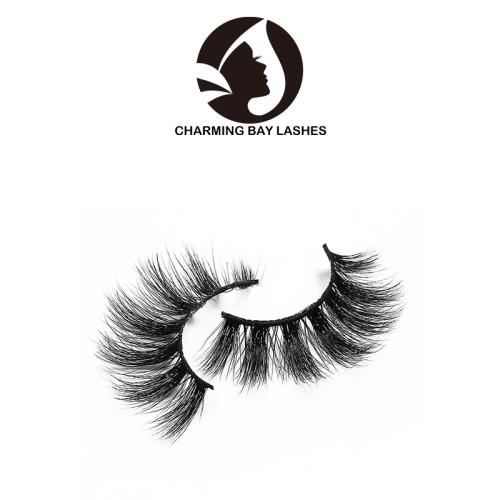 china best 3d fur mink lashes fashion 3d mink strip eyelashes fur false eyelashes with custom eyelash box