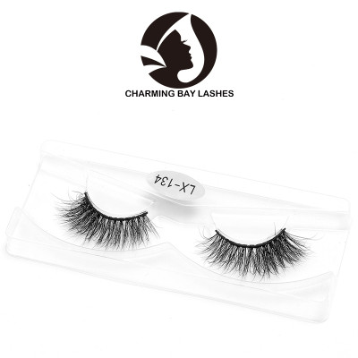 3d real siberian mink fur eyelashes natural length eye lashes factory in false eyelash  with high quality fur 3d mink eyelashes