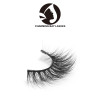 custom package 3d mink fur eyelashes strip lashes 3d mink layered eyelashes natural
