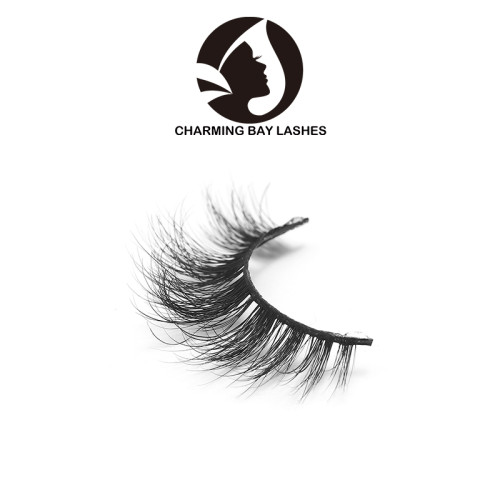 3d real mink false eyelashes oem service with custom logo 100% mink false eyelashes 3d mink eyelash with private label