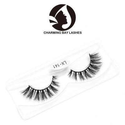 cheap real 3d mink handmade false eyelashes with packaging custom different styles 3d mink eyelash