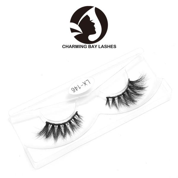 custom eyelash 100% 3d real mink handmade eyelashes set cheap false eyelashes