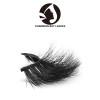 transparent band fluffy 3d mink beauty lady eyelashes cruelty free with custom eyelash box