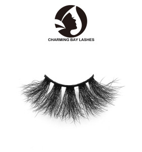 free sample 3d natural fluffy mink eyelashes with custom eyelash packaging high quality false eyelashes