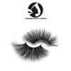 qindao 3d mink eyelashes with custom package natural private brand regular eyelashes human hair