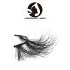 short 3d mink reusable eyelashes with custom packages wholesale strip false eyelashes mink