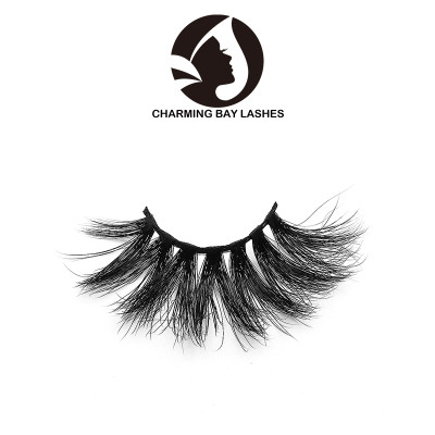 wholesale your own brand 3d mink soft band false wispy eyelashes with custom packaging box