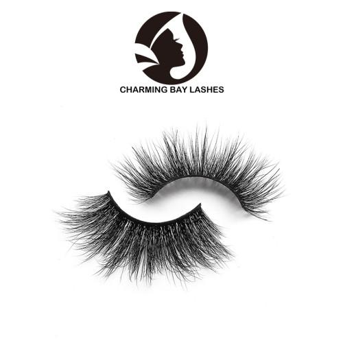 qingdao 3d soft mink eyelashes with custom packing new eye lashes with custom packaging
