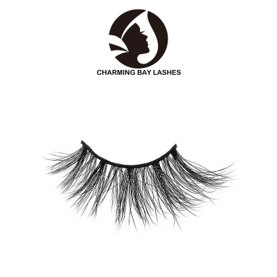 wholesale 3d mink premium eyelashes private label with logo private label qindao false eyelashes